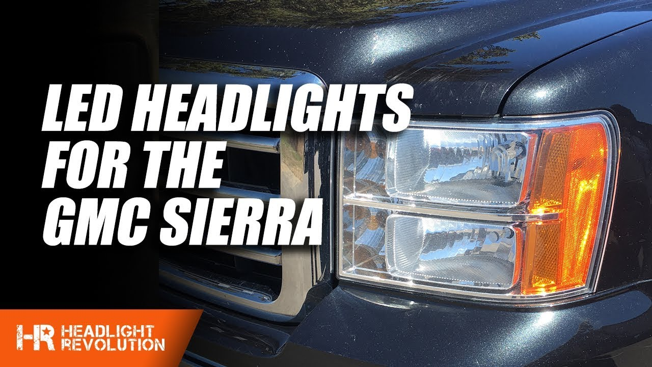Wiring Led Headlights To 1955 Chevy Electrical Diagrams Headlight Diagram 2012 Gmc Sierra Bulb Install Youtube 55 Switch