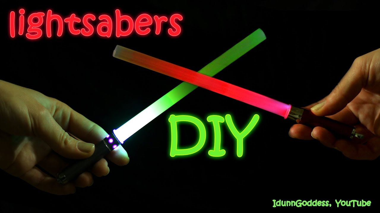 How To Make A Lightsaber in 2 minutes – DIY Star Wars Lightsabers ... for How To Make A Lightsaber For Kids  288gtk