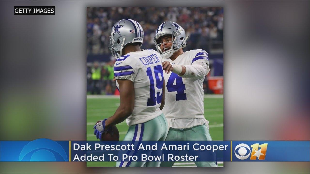 low priced dbe21 9639e Cowboys QB Dak Prescott, WR Amari Cooper Added To Pro Bowl Roster