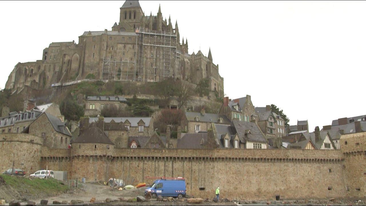 Erdf participe aux travaux du mont saint michel youtube - Mont saint michel travaux ...