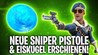 DIE NEUE SNIPER PISTOLE & EISKUGEL ERSCHIENEN! ❄️🔥 | Fortnite: Battle Royale