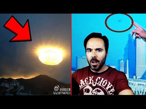 5 UFO Sightings Spotted In MOVIES & ON LIVE TV!  WOW!!