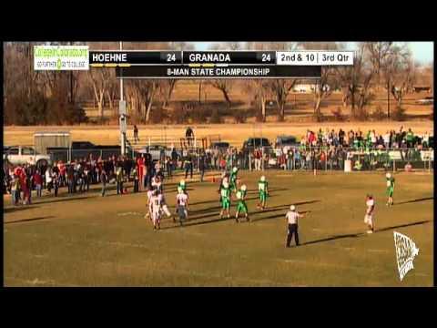 2012 CHSAA 8-Man Football State Championship - Granada vs Hoehne