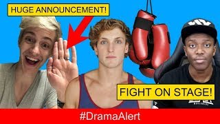 Logan Paul & KSI PRESS CONFERENCE! #DramaAlert PewDiePie TROLLS Journalist! Ninja HUGE Announcement!