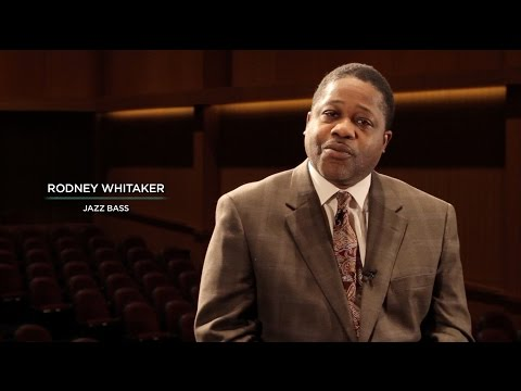 MSU Jazz Faculty Profile: Rodney Whitaker | Jazz Bass