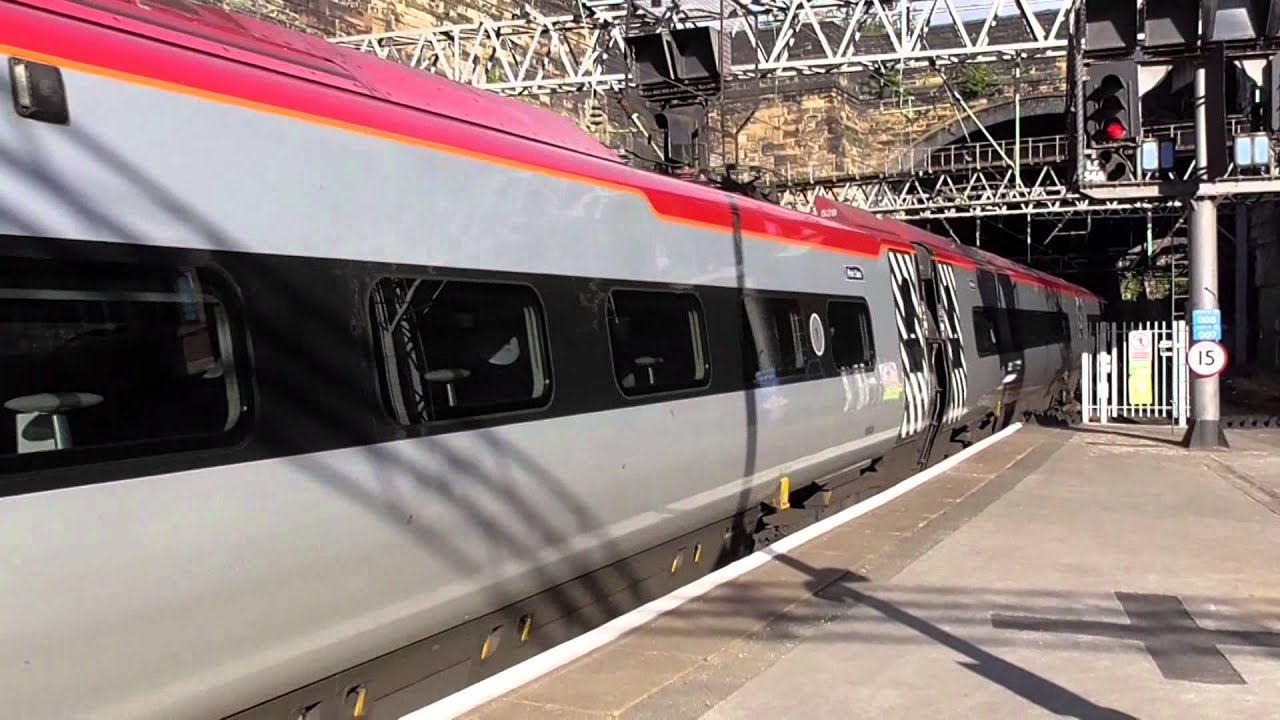Trains At Liverpool Lime Street Railway Station 05 9 15