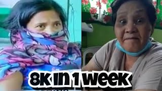 8k for 1 week