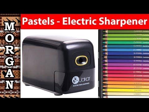 Sharpening Pastel Pencils - Electric Sharpener - Jason Morgan Art