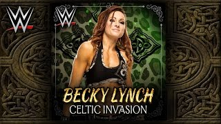 "WWE NXT: ""Celtic Invasion"" (Becky Lynch) Theme Song + AE (Arena Effect)"