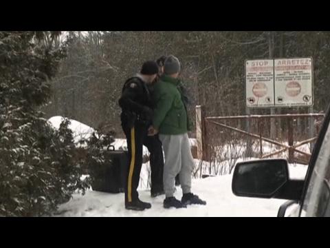 Crossing the Northern Border: Immigrants in U.S. Flee into Canada Seeking Refuge from Trump