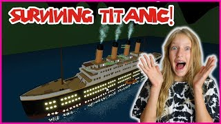SURVIVING THE TITANIC!!!