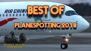 Best of Planespotting Frankfurt Airport 2018
