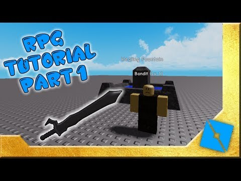 Rpg Development Tutorial Pt.1 | Roblox Studio Development