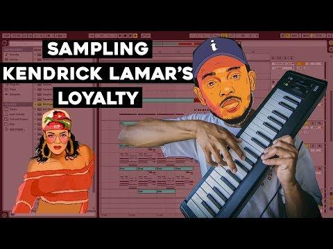 Sampling Kendrick Lamar's LOYALTY ft. Rihanna   FREE 808 KIT INFO