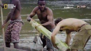 파푸아뉴기니 원시부족의 악어 사냥