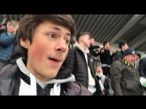 NEWCASTLE 1 MAN UNITED 0 MATCH DAY VLOG SCENES AT ST JAMES PARK!!!!!