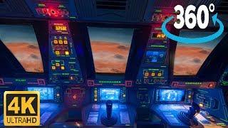 360º 4K Ride on Mission:Space - Orange Team