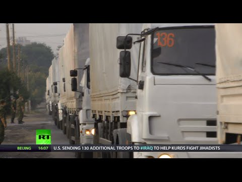 Russia's humanitarian convoy heads to E. Ukraine under agreement with Kiev