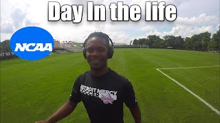 A day in the life of a D1 college soccer player || Detroit Mercy men's soccer.