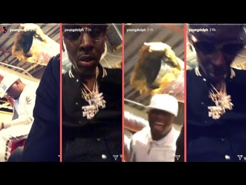 Young Dolph Pulls Up On Ralo For The First Time Since Getting Released From Hospital