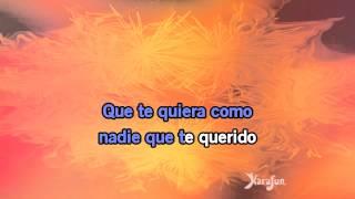 Karaoké Vous les femmes (Pobre Diablo) - Latin Lovers *