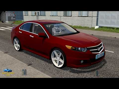 City Car Driving Honda Accord 2011 Street Racing