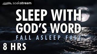 SOAK IN GOD'S PROMISES BY THE OCEAN | SLEEP WITH GOD'S WORD | 100+ Bible Verses For Sleep