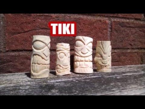 Tiki Carving Time Lapse ( Part 1)