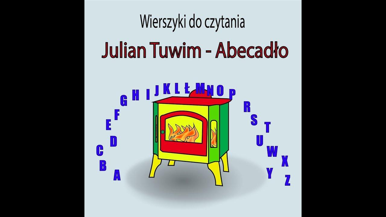 Abecadło I Kotek Wierszyki Dla Dzieci Julian Tuwim