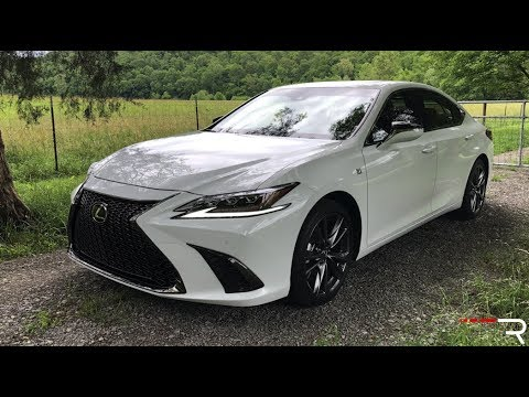 Lexus Es 350 2019 >> 2019 Lexus ES 350 F-Sport – Baby LS Wants Younger Buyers - YouTube
