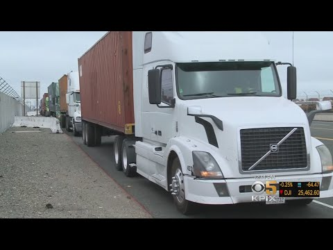 Port Of Oakland Pushes To Convert Trucks Serving Port To Zero-Emission Vehicles