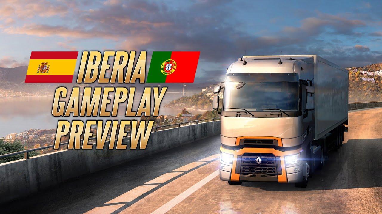 Euro Truck Simulator 2 - Iberia Gameplay Video #2 (TrackIR)