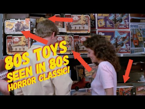 Vintage Toys in 80s Classic Movie!