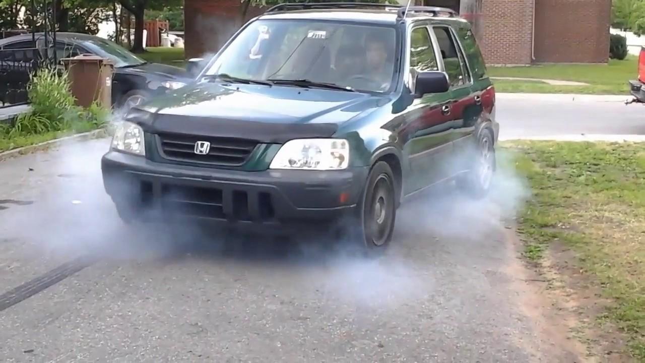 crv b20b turbo burnout prt2