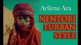Тюрбан из клипа Arilena Ara - Nentori. Как сделать головной убор как в клипе. Head wrap tutorial
