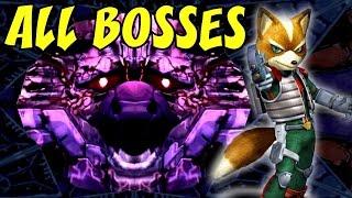 Star Fox Assault - All Bosses