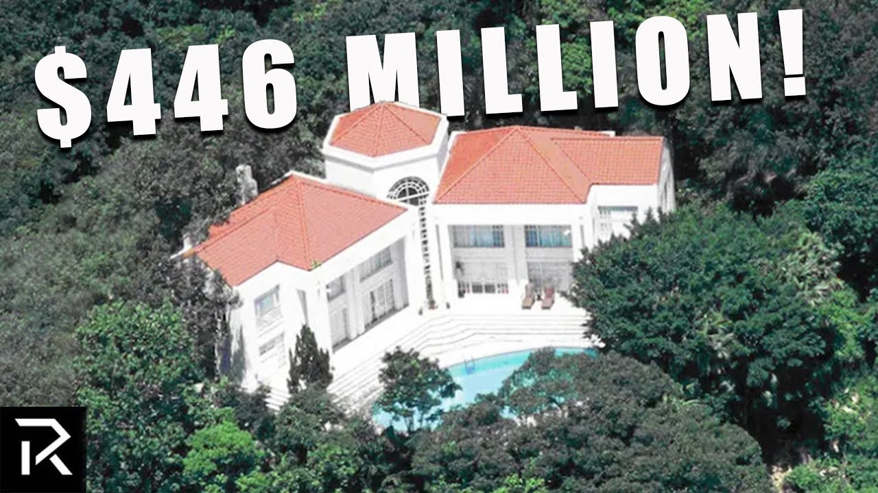 Inside A $446 Million Hong Kong Mansion