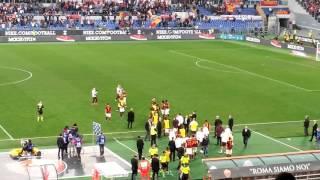 Derby, ultimi minuti e Grazie Roma