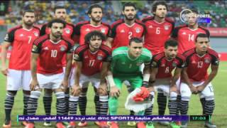 Can 2017 - لقاء مع الكابتن احمد فتحى بعد فوز منتخب مصر على اوغندا 1 / 0