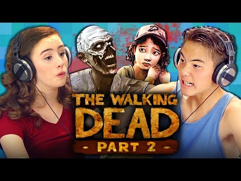 THE WALKING DEAD: Episode 1 - Part 2 (Teens React: Gaming)