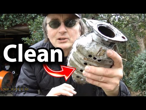 How to Clean Catalytic Converter using Lacquer Thinner