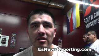 brandon rios on who has the best chin in boxing - EsNews