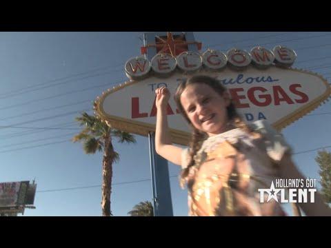 Amira treedt op in Las Vegas - wat een ster!