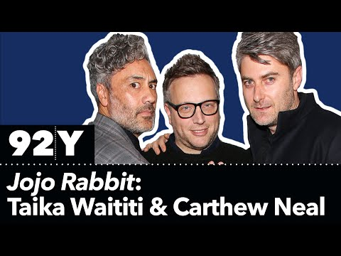 Jojo Rabbit: Taika Waititi And Carthew Neal With Ariel Foxman