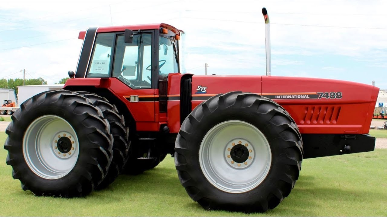 Rare IHC 7488 Tractor Sold For Record Price On Iowa