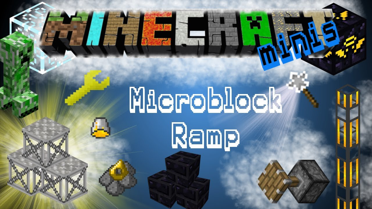 how to make ramps in minecraft