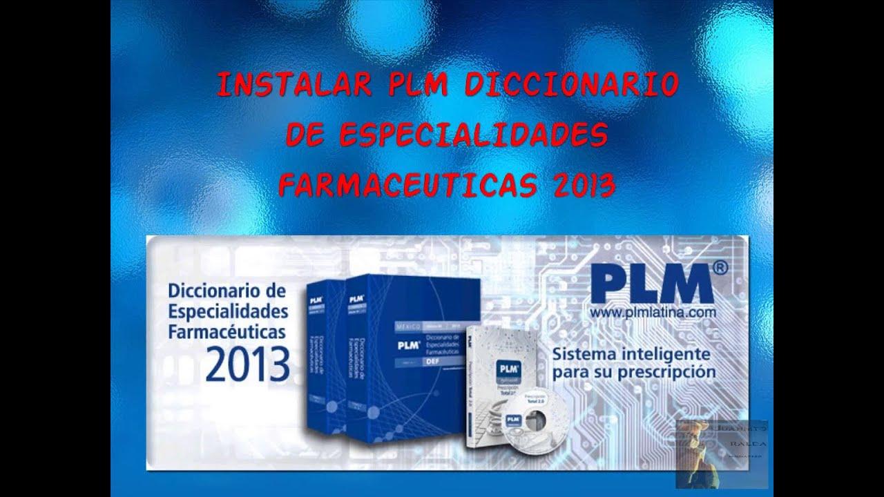 diccionario de especialidades farmaceuticas plm 2008