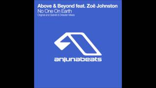 Above & Beyond feat. Zoë Johnston - No One On Earth (Original Mix)
