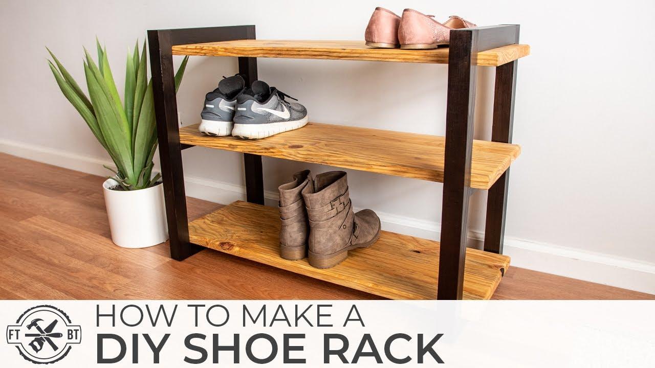 diy shoe rack with a shou shugi ban