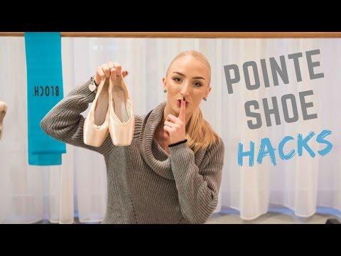 POINTE SHOE HACKS!